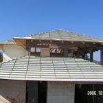 Családi ház hagyományos tető ácsmunkák 1. kép