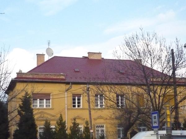 Ferenczy kúria kastély épületének bádogos munkái