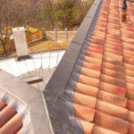 Családi ház mediterrán tető ácsmunkák 2. kép