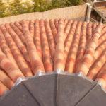 saládi ház mediterrán tető ácsmunkák 1. kép