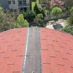 Téglány vöröszsindely tető felújítás