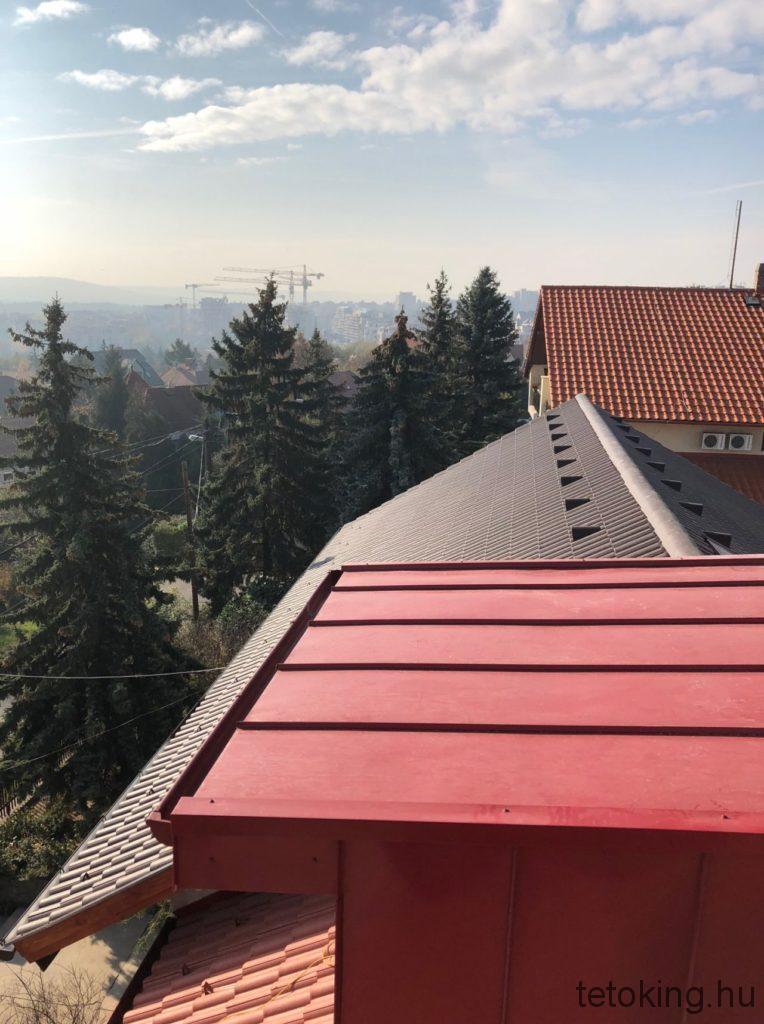 Bádogos tetőfedés