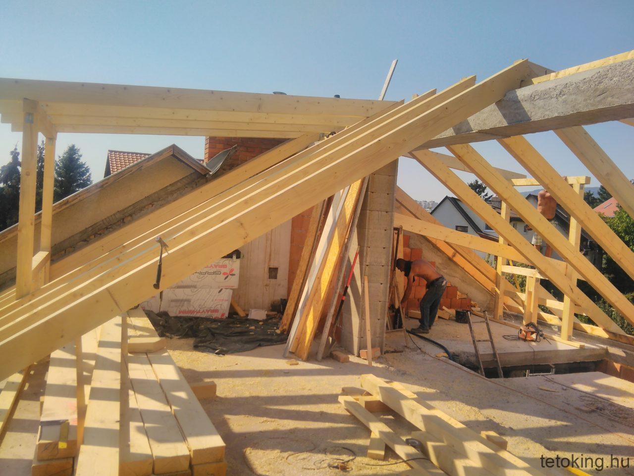 Tetőépítés - Ácsmunka